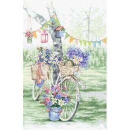 Велосипед - LETISTITCH - набор для вышивки крестом