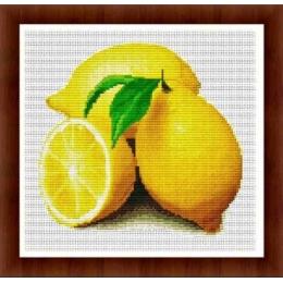 Набор для вышивки крестом - Dantel - 003Ф Лимон