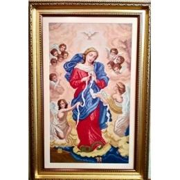 Набор для вышивки крестом - Dantel - 005 Богородица Развязывающая Узлы