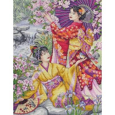 Geishas/Гейши - Anchor MAIA - набор вышивки крестом