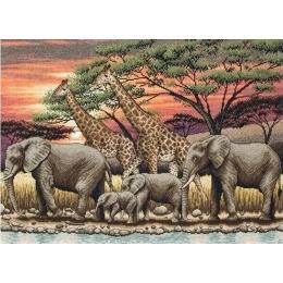 African Sunset/Африканский закат - Anchor MAIA - набор вышивки крестом