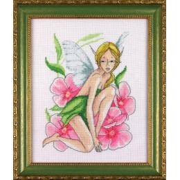 Набор для вышивки крестом - ЛЕДИ - Розовая фея 01072