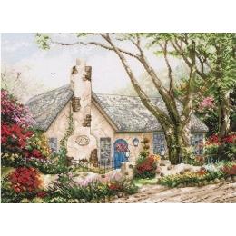 Morning Glory Cottage/Утренний Коттедж - Anchor MAIA - набор вышивки крестом