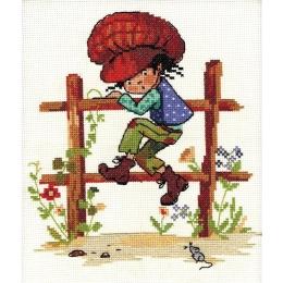 Набор для вышивки крестом - Nitex - 0154 Том