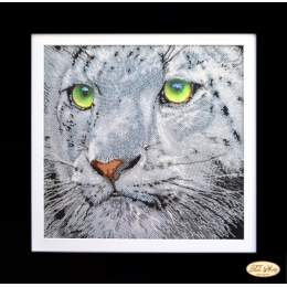 Набор для вышивки бисером - Тэла Артис - НГ-017 Взгляд тигра