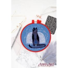 Набор для вышивки крестом - Абрис Арт - АНМ-019 Котэ