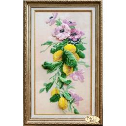 Набор для вышивки бисером - Тэла Артис - НВ-020 Букет с лимонами