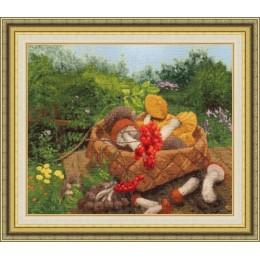 Лесные дары - Золотое руно - набор для вышивки крестом