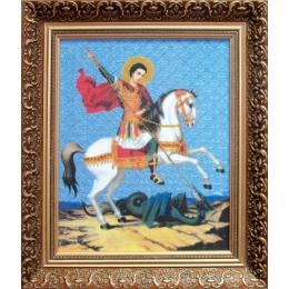 Набор для вышивки крестом - Чарівна Мить - РК-044 Георгий Победоносец