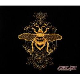 Набор для вышивки крестом - Абрис Арт - Золотая пчела