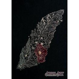 Перо 1 - Абрис Арт - набор вышивки крестом