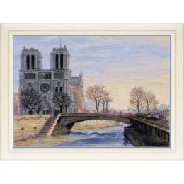 Набор для вышивки крестом - OLanTA - VN-079 Париж