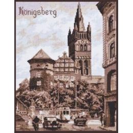 Набор для вышивки крестом - Палитра - Королевский замок