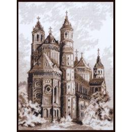 Набор для вышивки крестом - Палитра - Вормский Собор