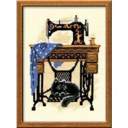 Швейная машинка - РИОЛИС - набор для вышивки крестом