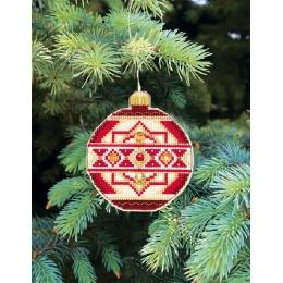 Набор для вышивания крестом Crystal Art Т-09 Серия Счастливого Рождества