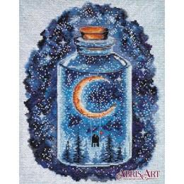 Набор для вышивки крестом - Абрис Арт - Месяц для влюблённых