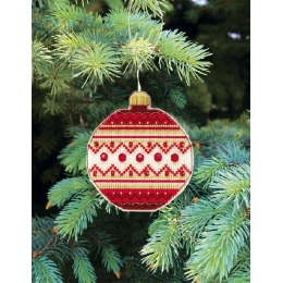 Набор для вышивания крестом Crystal Art Т-10 Серия Счастливого Рождества