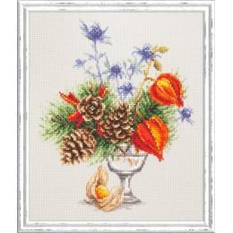 Зимний букетик - Чудесная игла - набор для вышивки крестом