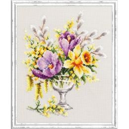 Весенний букетик - Чудесная игла - набор для вышивки крестом