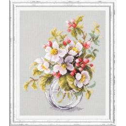 Яблоневый цвет - Чудесная игла - набор для вышивки крестом