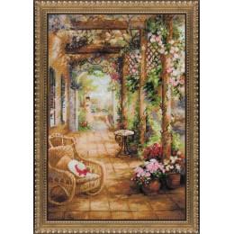 Свидание в саду - РИОЛИС - набор для вышивки крестом