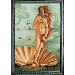 Набор для вышивки крестом - РИОЛИС - 100/062 Рождение Венеры