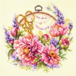 Набор для вышивки крестом - Чудесная игла - 100-124 Пионы для умелицы