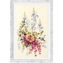 Праздничный этюд - Чудесная игла - набор для вышивки крестом