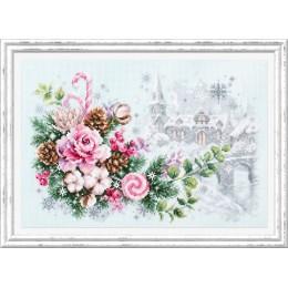 Набор для вышивки крестом - Чудесная игла - 100-244 Рождественское настроение