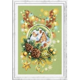 Набор для вышивки крестом - Чудесная игла  - 100-245 Светлое Рождество