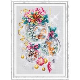 Набор для вышивки крестом - Чудесная игла - 100-247 Рождественская сказка