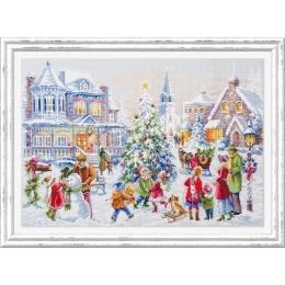 Набор для вышивки крестом - Чудесная игла - 100-250 Накануне Рождества