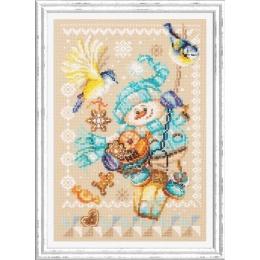 Набор для вышивки крестом - Чудесная игла - 100-260 Рождественские гостинцы