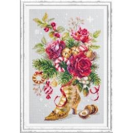Набор для вышивки крестом - Чудесная игла - 100-270 Рождественский сюрприз