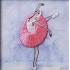 Вышивка бисером балерина