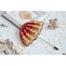 Набор для вышивки бисером - Тэла Артис - Б-106 Солнечный зонт (брошь)