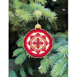 Набор для вышивания крестом Crystal Art Т-11 Серия Счастливого Рождества