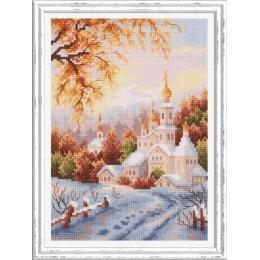 Набор для вышивки крестом - Чудесная игла - 110-061 Снежная обитель