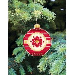 Набор для вышивания крестом Crystal Art Т-12 Серия Счастливого Рождества