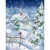Наборы для вышивки крестом - Зима
