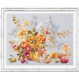Осенняя импровизация - Чудесная игла - набор для вышивки крестом