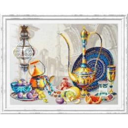 Набор для вышивки крестом Чудесная игла 120-301 Яркие краски Марокко