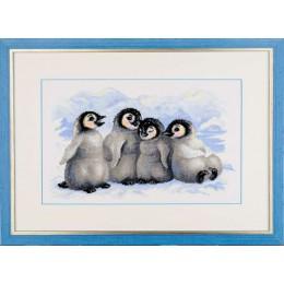 Забавные пингвины - РИОЛИС - набор для вышивки крестом