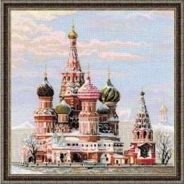 Набор для вышивки крестом - РИОЛИС - Москва. Собор Василия Блаженного