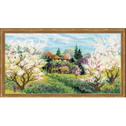 Набор для вышивки крестом - РИОЛИС - Яблоневый сад