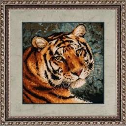 Набор для вышивки крестом - РИОЛИС - 1282 Амурский тигр