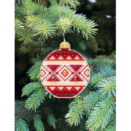 Набор для вышивания крестом Crystal Art Т-13 Серия Счастливого Рождества