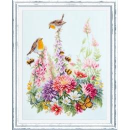 Набор для вышивки крестом - Чудесная игла - 130-032 Звонкие малиновки