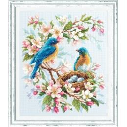 Весенняя песня - Чудесная игла - набор вышивки крестом
